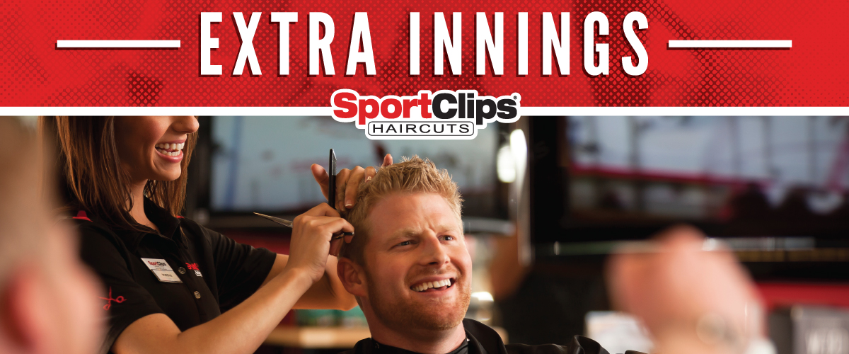 The Sport Clips Haircuts of Ankeny North Extra Innings Offerings