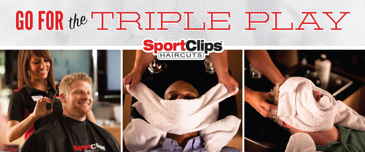 The Sport Clips Haircuts of Ankeny North Triple Play